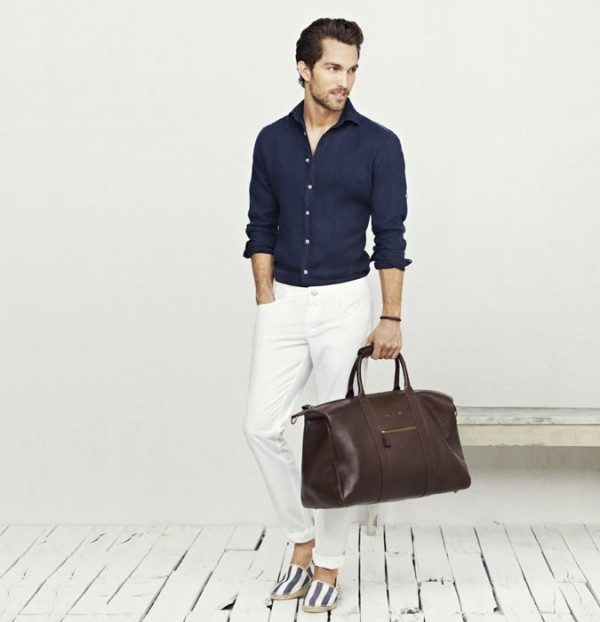 5 Rules for Wearing White Jeans by FashionBeans.com | Details ...