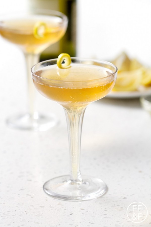 Sparkling Lemon and Honey Cider (mocktail) | Food Fashion and Fun