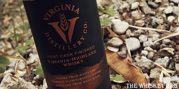 Virgina-Highland Port Finished Whisky Label