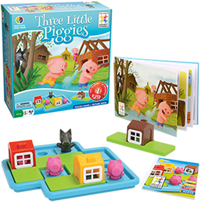 Three Little Piggies - Toy Child Development.