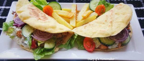 chicken-gyros-Greek-sandwich-wrap-tzatziki-cucumber-onions-tomatoes-