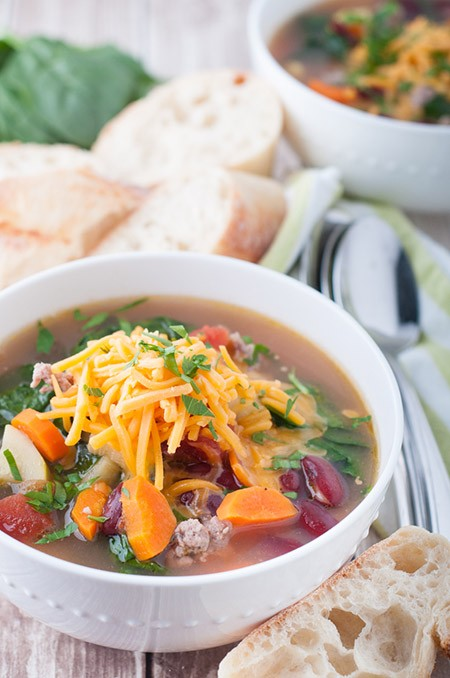 Italian Sausage and Spinach Soup Recipe by Nelson Cardoso | Epicurious ...