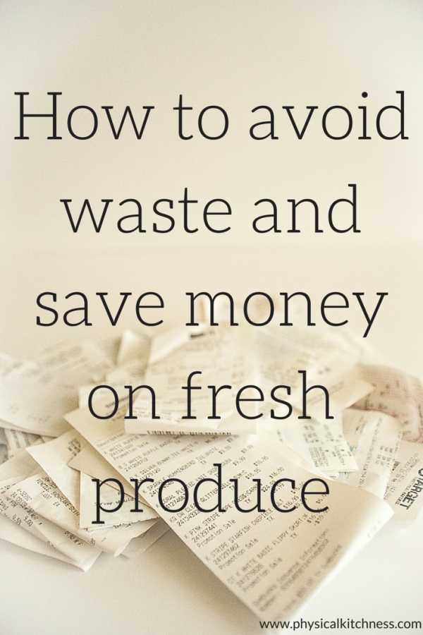 Sick of spending money on fruits and vegetables only to have them spoil before use? Check out these helpful tips for saving money and avoiding waste.
