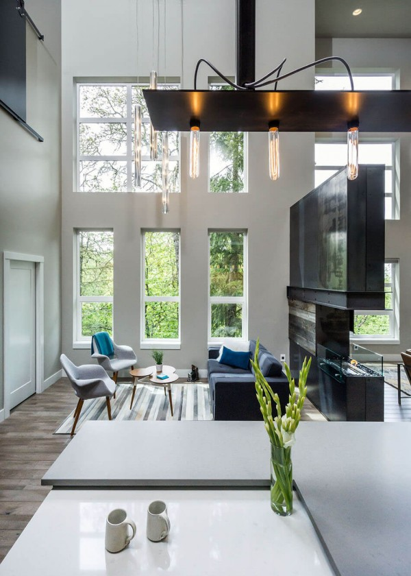 Open Spaces And Large Windows Create Serendipity In This