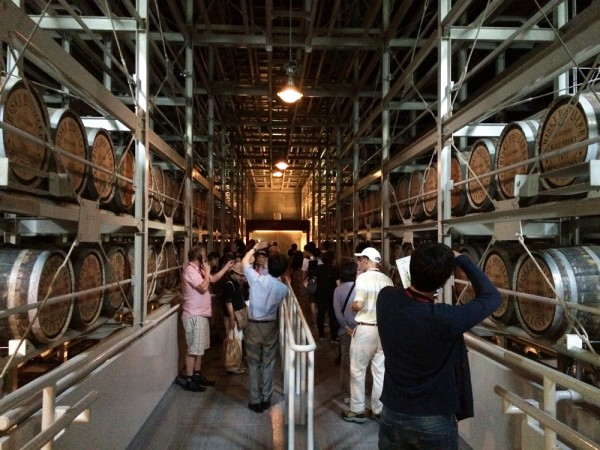 Maturation Warehouse at Hakushu Distillery