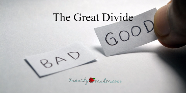 The Great Divide - The difference between accelerated students and the others. Let's close the gap.