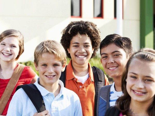 Group of Middle Schoolers