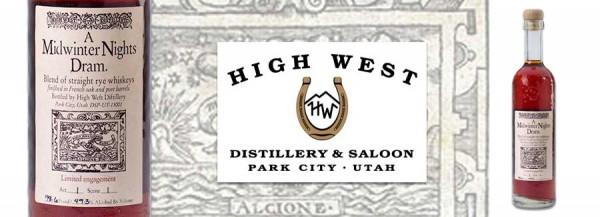 High West Midwinters Night Dram Header