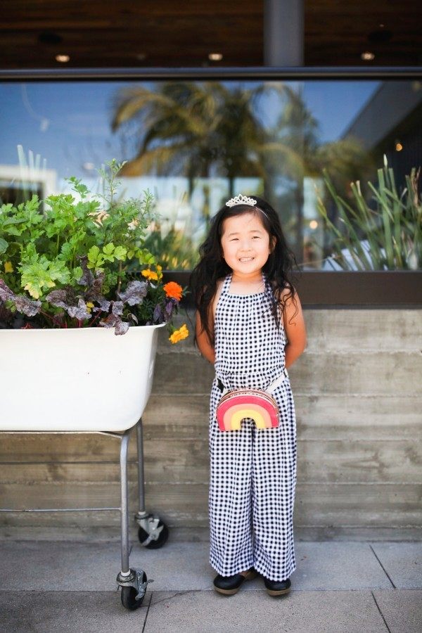 only child, onlies, pros of having an only child, singleton, one child, mommy and daughter, jujube gingham, rainbow fanny pack, girls fashion, target littles