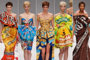 The inspiration -- designers such as Jeremy Scott and Moschino