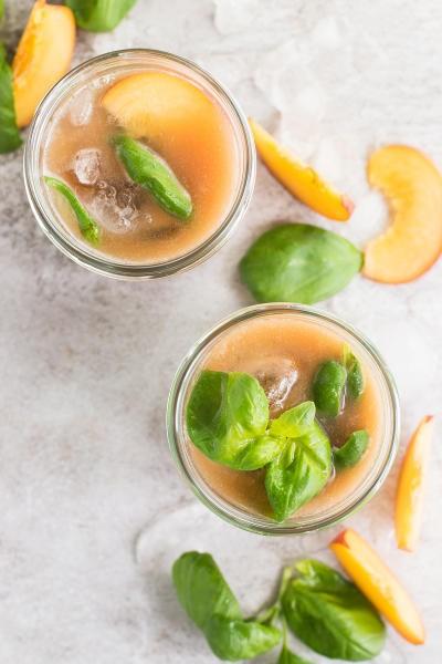 File 1 Basil Peach Agua Fresca