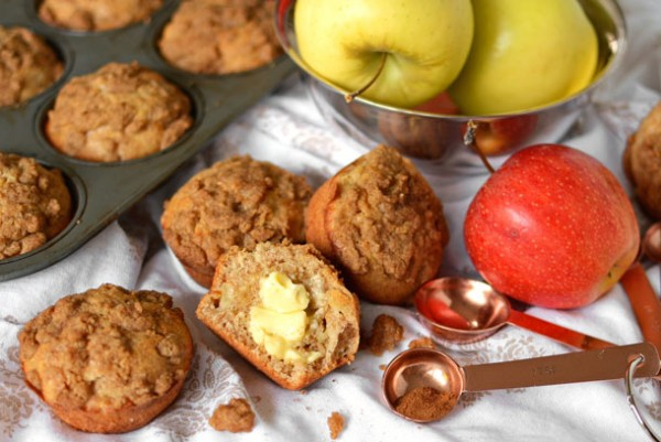 muffins-apple-wheat