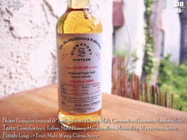 2008 Signatory Vintage Clynelish 10 Years Review