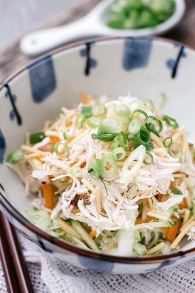Asian Chicken Salad with Sesame Dressing Picture