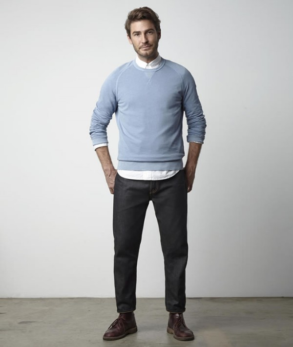 Men's Tapered Jeans Outfit Inspiration