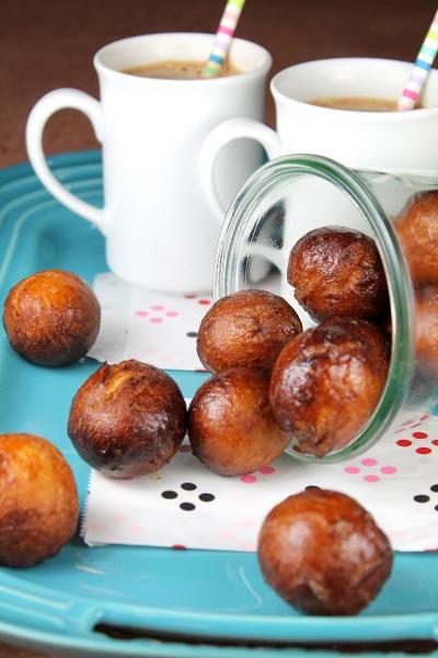 Chai Latte Glazed Donut Holes Pic