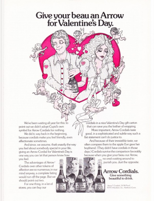 Arrow Cordials, 1974