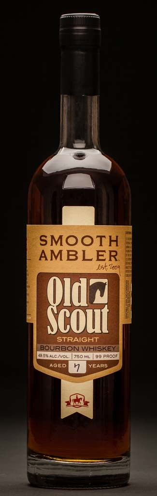 Smooth Ambler Old Scout Bourbon Bottle