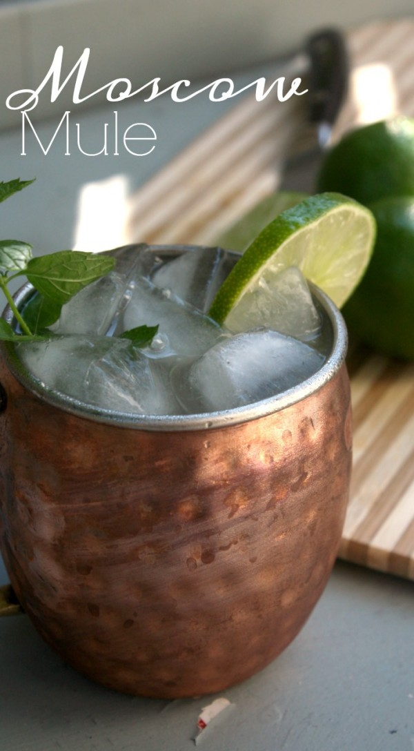 The Classic Moscow Mule is a tasty and brisk cocktail that is simple to make with only 3 ingredients. The Classic Moscow Mule is made with fresh squeezed lime juice, vodka and ginger beer. This thirst quenching combination is one that everyone loves.
