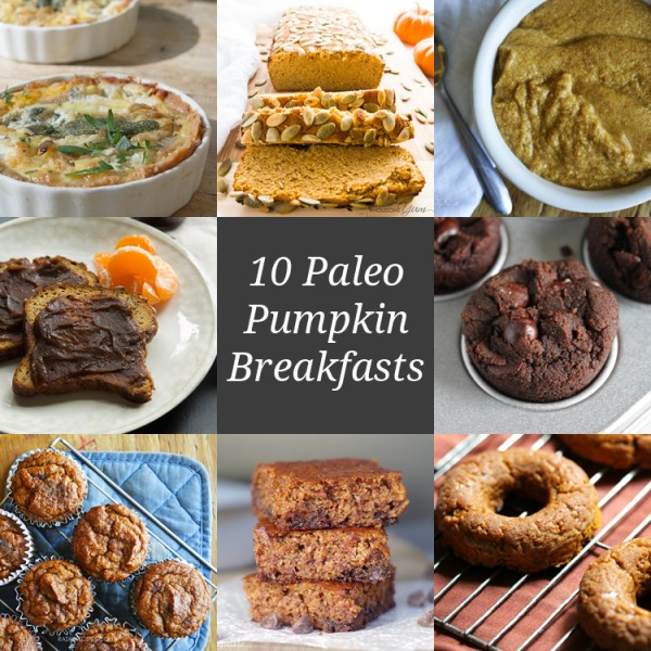 10 Paleo Pumpkin Breakfasts | Only Taste Matters