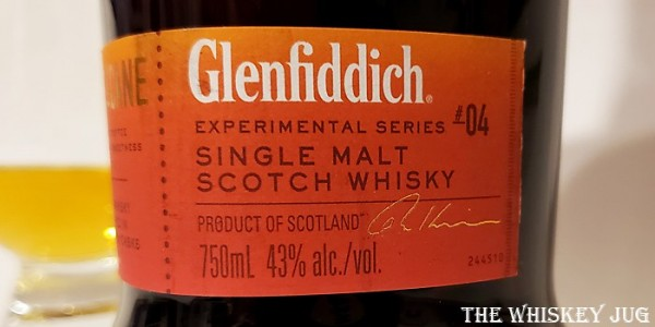Glenfiddich Fire and Cane Label
