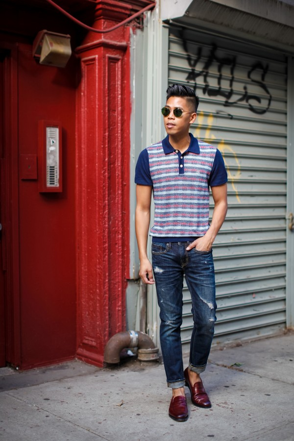 oh anthonio - Anthony Urbano - how to style men's loafers