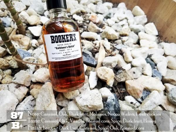 Booker's Bourbon Kathleen's Batch Review