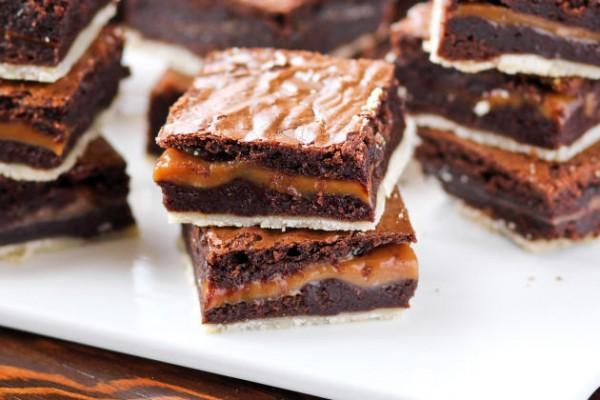 Twix Brownies Photo
