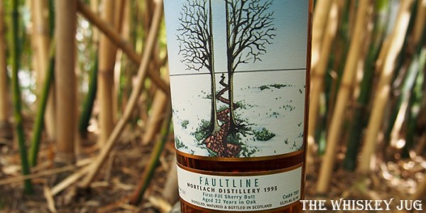1995 Faultline Mortlach 22 Year Old Label