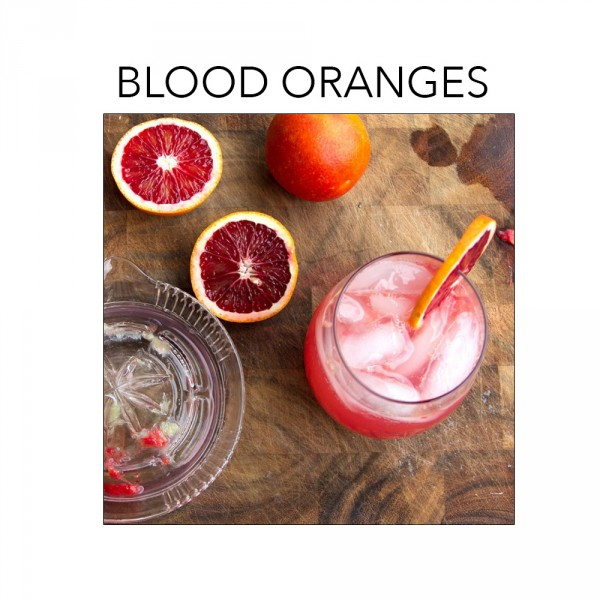 What's in season in February? Blood Oranges. For recipes click through to foodfashionandfun.com