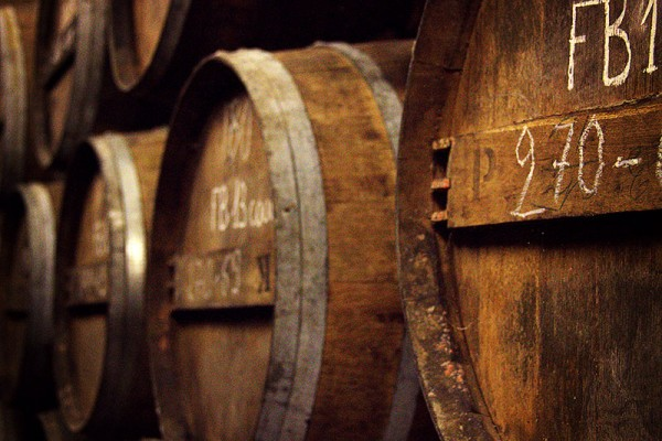 Lecat Cognac Ageing in the Barrels - Photo: Lecat Cognac