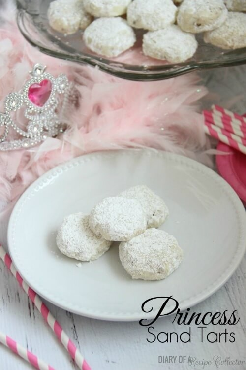 Princess Sand Tarts - Diary of a Recipe Collector