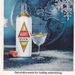 Ad for Gilbey's distilled Gin