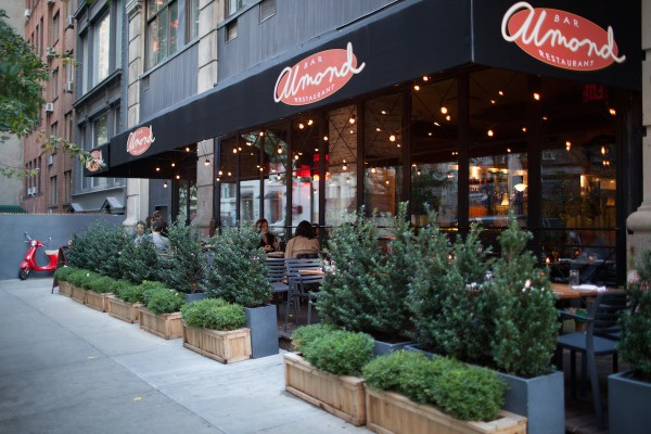 NYC - Almond (Flatiron) - American - Outdoor- Patio