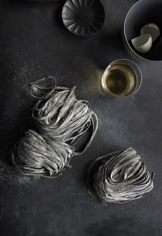 Black magic: squid ink makes a seafood linguini extra exotic.   Get the recipe.