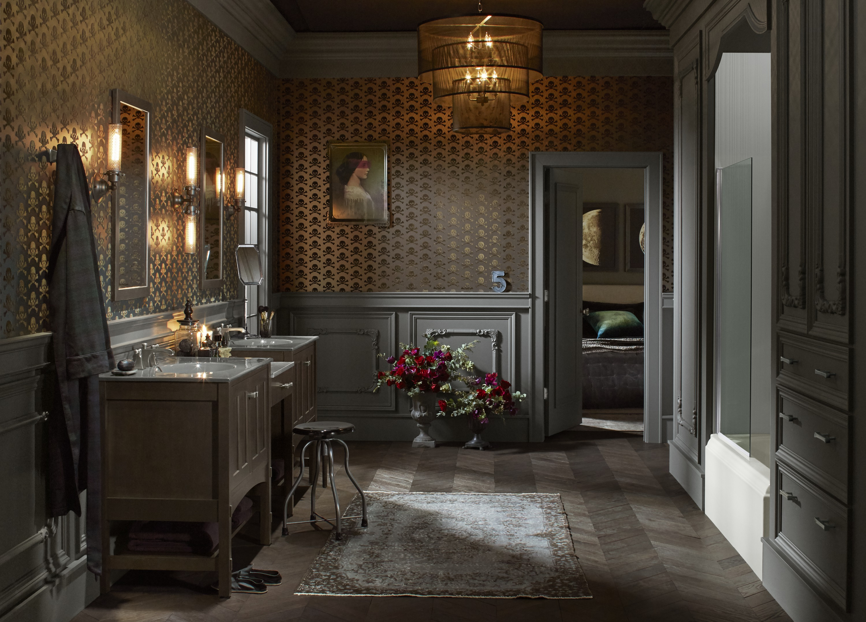Victorian edge bathroom kohler ideas for Historic bathroom remodel