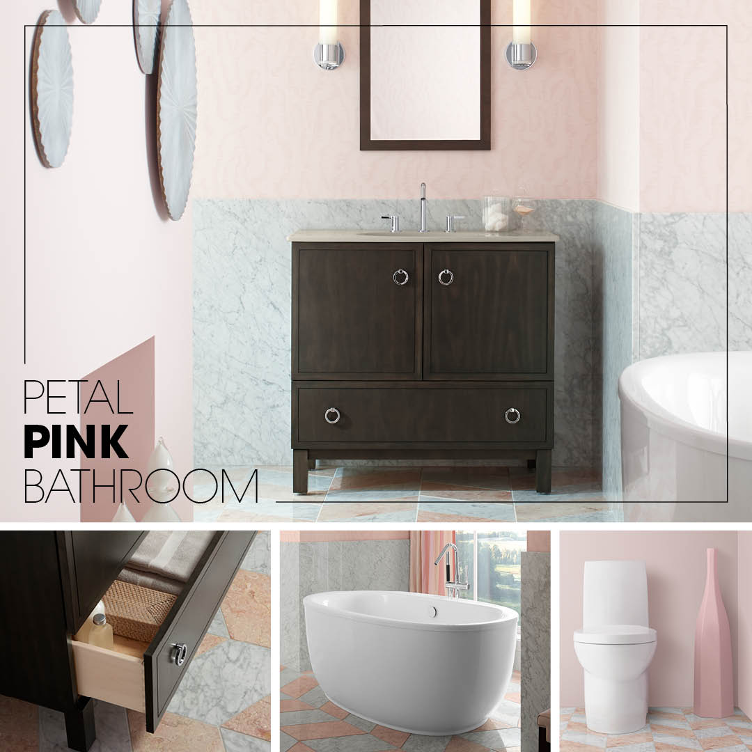 super san cute ideas of decor bathroom tile pink image berg