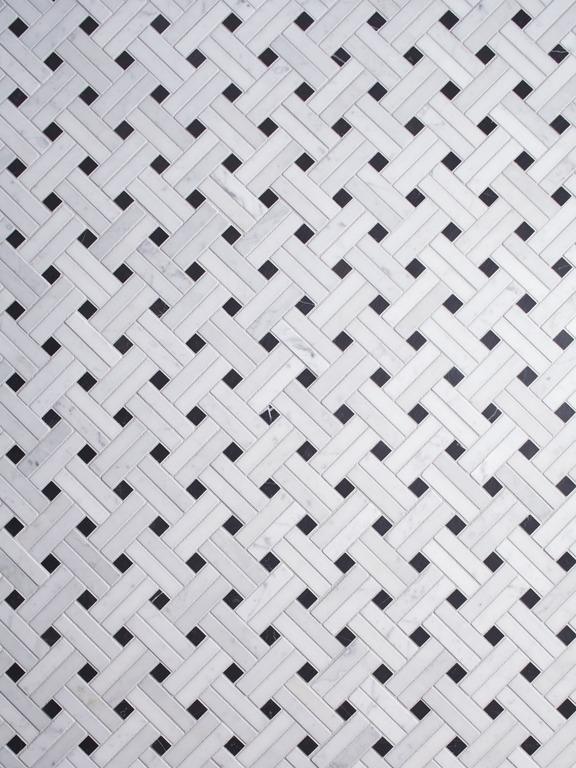 Ann Sacks Carrara Mosaic tile