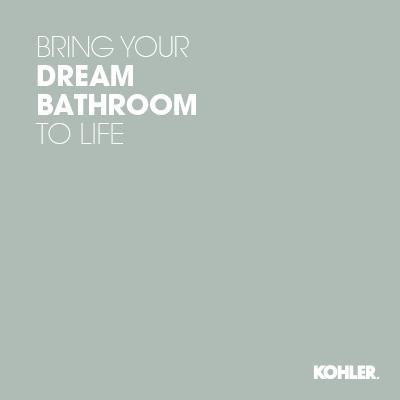 Learn how   Kohler Bathroom Design Service   can help you design the bathroom of your dreams.