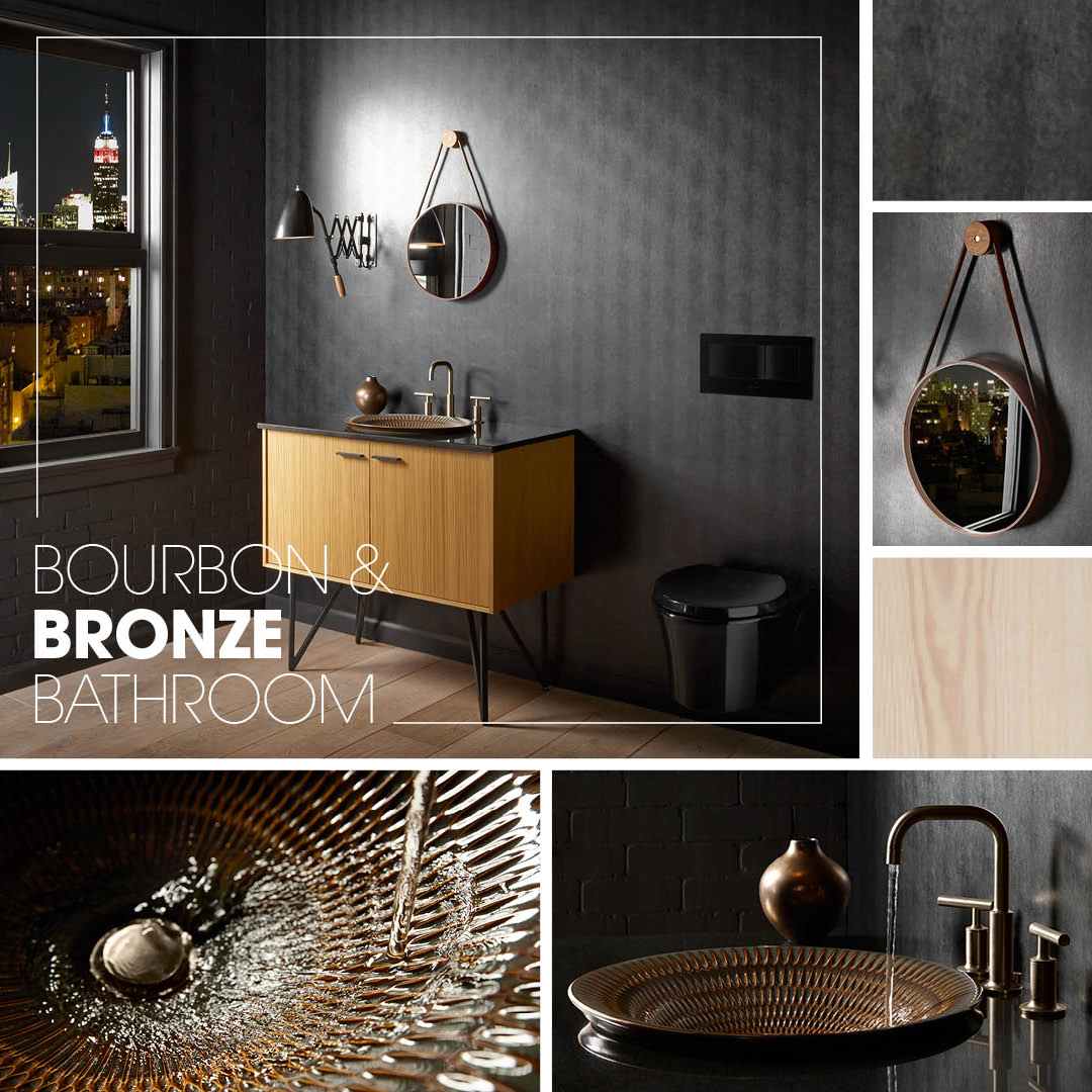 Bourbon Amp Bronze Bathroom Kohler Ideas