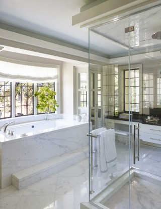 Bathroom by Bruce Budd and Bute King Architects in Houston, TX