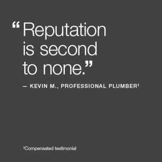 Plumbers prefer KOHLER® toilets
