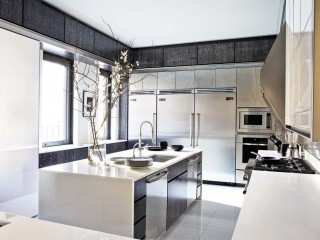 Modern Kitchen by Mark Stumer and James Aman in New York, NY