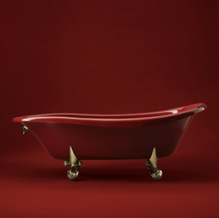 This claw-foot bath is named our Birthday Bath®. Shown here in Antique Red, it was created in celebration of Kohler's 100 th  birthday in 1973. We're still making wishes come true today with classic and contemporary styles.   Birthday Bath   Iron Works® Historic™ Bath   Freestanding Baths