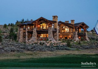 Artfully Designed Mountain Retreat by Michael Upwall