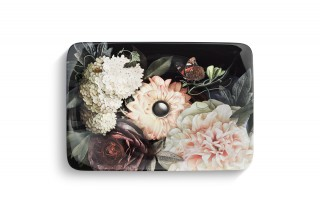 Dutchmaster Blush Floral on Carillon Rectangle Bathroom Sink    Capturing flora and fauna with depth and true-to-life color, this elegant Artist Editions® sink turns every season into spring.