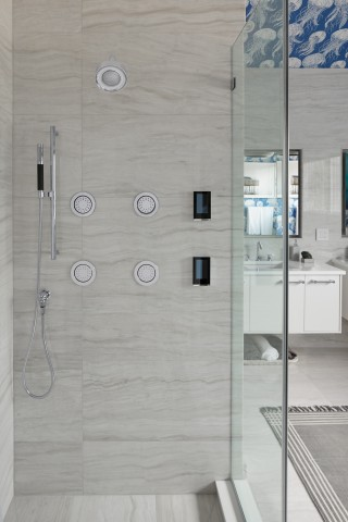 DTV+ Showering System    WaterTile    Shift Ellipse handshower kit    Purist showerhead    No matter what you're looking for in a shower, you're sure to find it with unique, neatly organized accessories and options.