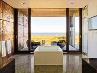 Contemporary Bathroom by Christoff:Finio Architecture in The Hamptons, NY