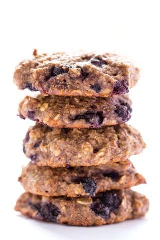 Blueberry Muffin Quinoa Breakfast Cookies by Alyssa Rimmer ...