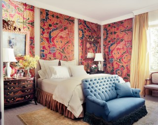 Bedroom by Michael S. Smith in Madrid, Spain